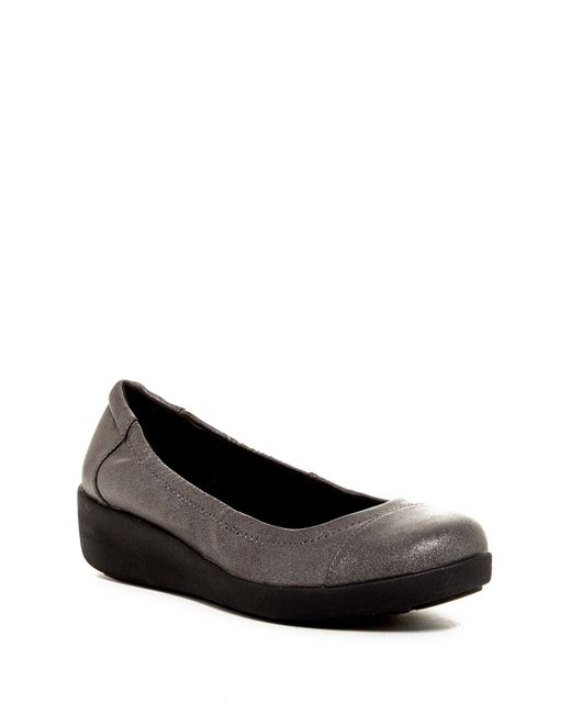 Easy Spirit | Black Kable Flat - Wide Width Available | Lyst