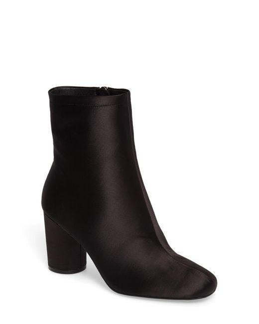 Jessica Simpson - Black Merta Column Heel Bootie (women) - Lyst