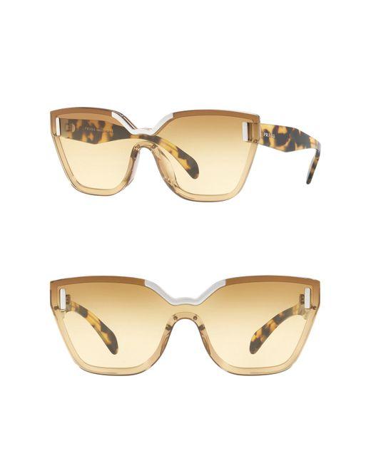 Prada - Multicolor 56mm Irregular Sunglasses - Lyst