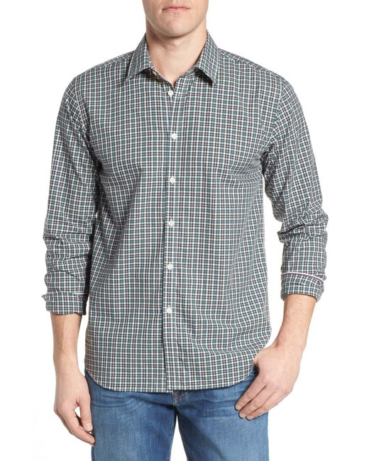 Jeremy Argyle Nyc - Multicolor Comfort Fit Plaid Sport Shirt for Men - Lyst