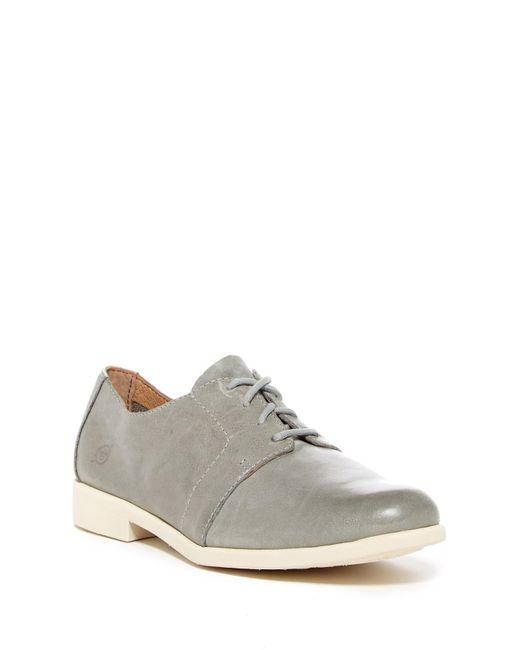 f7aa60c392c Born - Gray Passi Leather Derby - Lyst ...