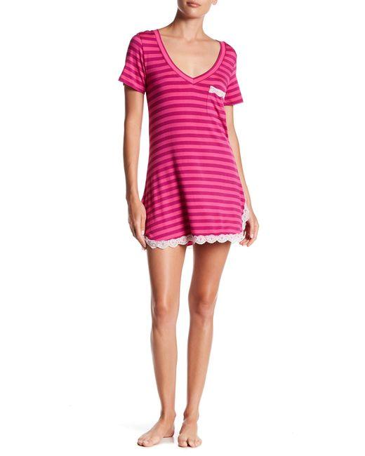 Honeydew Intimates | Pink All American Sleepshirt | Lyst