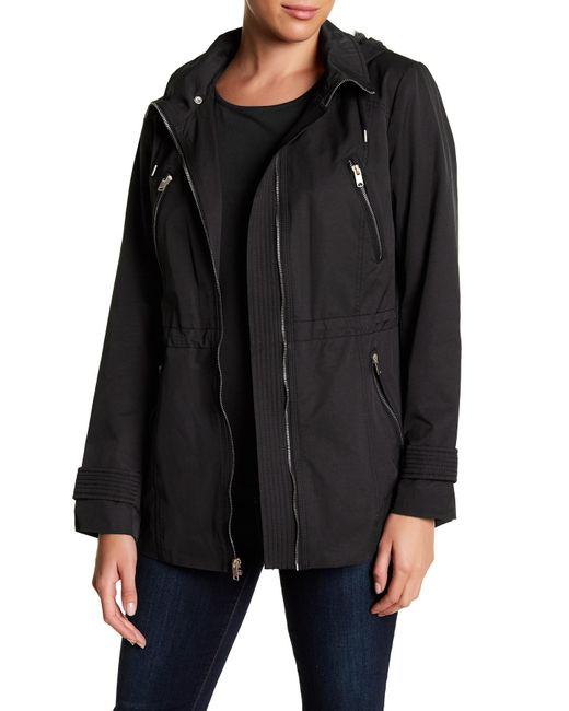 Marc New York | Black Tanner Tech Rain Coat | Lyst