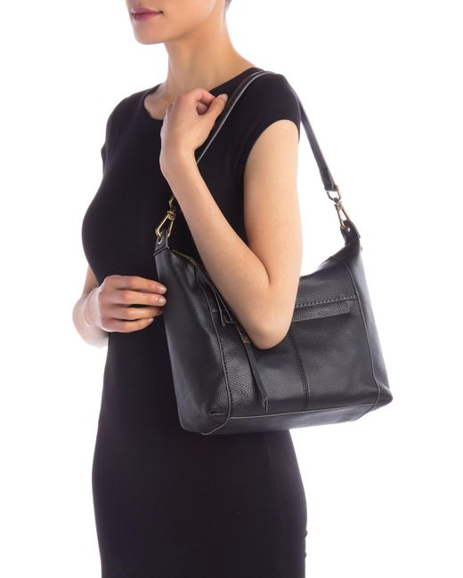 ... The Sak - Black Alameda Leather Hobo Bag - Lyst ... 28964e5162942