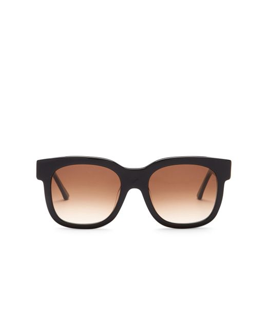 Thierry Lasry | Black Women's Flavory Square Acetate Frame Sunglasses | Lyst