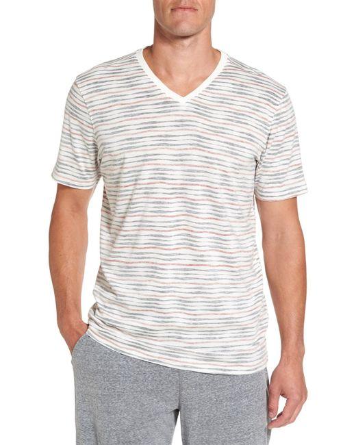 Daniel Buchler - White V-neck T-shirt for Men - Lyst