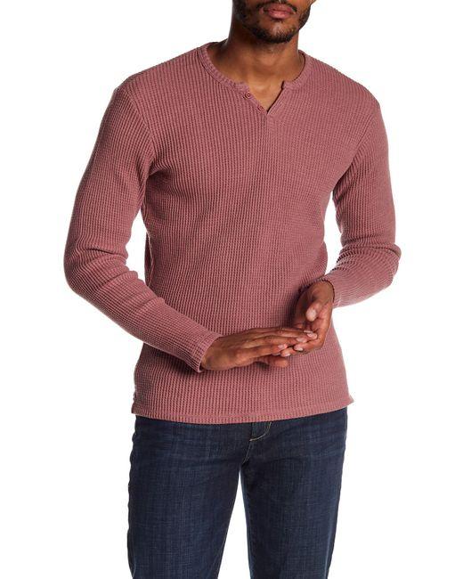 Joe's Jeans | Multicolor Wintz Long Sleeve Waffle Henley for Men | Lyst