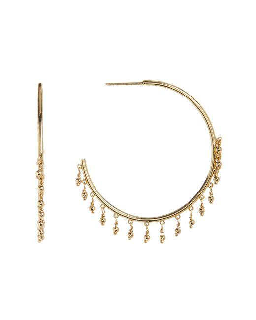 Gorjana - Metallic Sol Open Fringe 45mm Hoop Earrings - Lyst