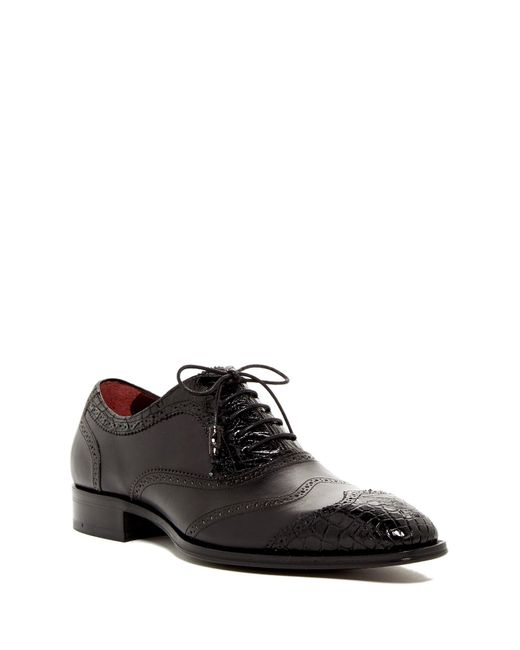 Mezlan | Black Munich Genuine Crocodile Oxford for Men | Lyst