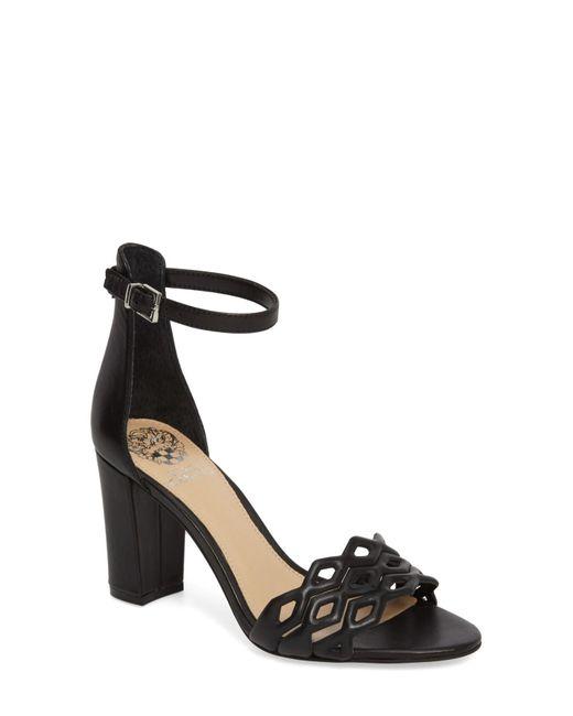 dd5d1c337a1 Lyst - Vince Camuto Caveena Block Heel Sandal (women) in Black ...