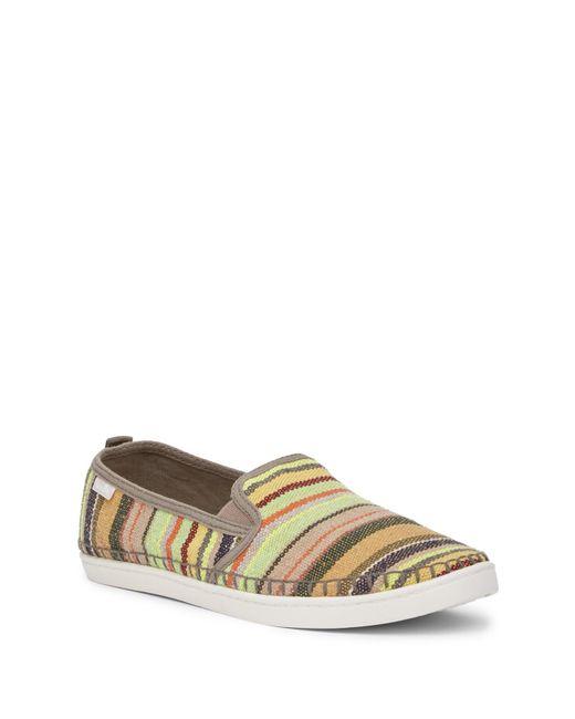 Sanuk - Multicolor Brook Stripe Slip-on Sneaker - Lyst