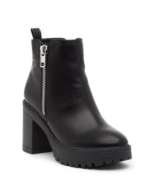 Steve Madden - Black Turbo Zip Boot - Lyst