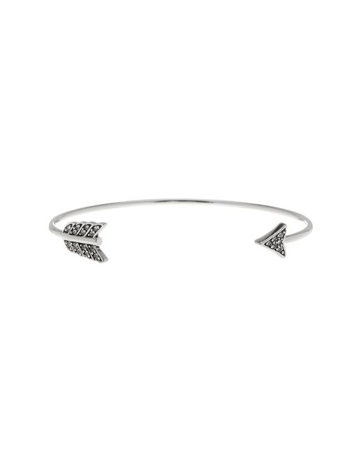 House of Harlow 1960 | Metallic Crystal Detail Arrow Open Cuff | Lyst
