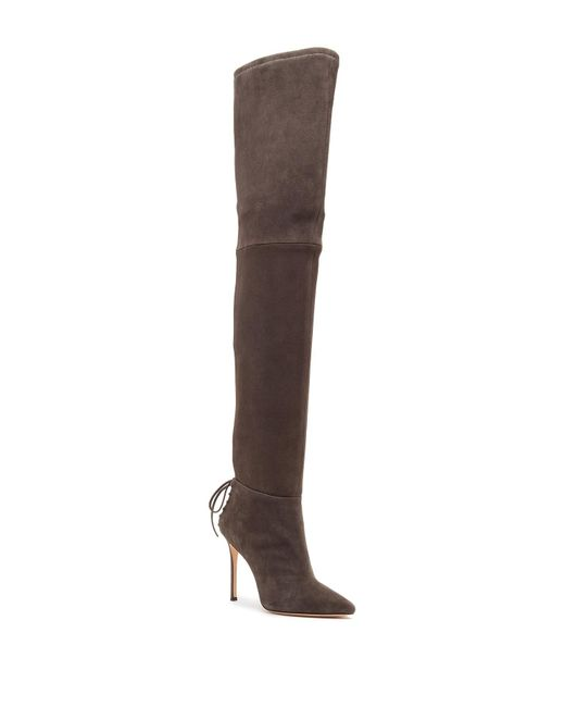 Pour La Victoire - Brown Cassie Thigh High Boot - Lyst