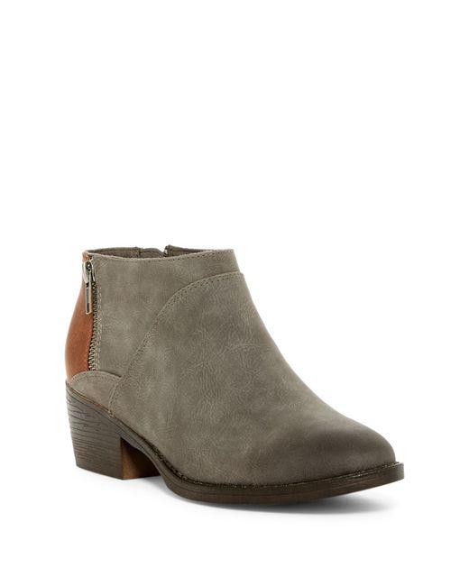 BC Footwear - Gray Union Bootie - Lyst