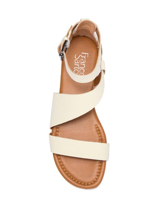 f365800ff552 ... Franco Sarto - Brown Griffith Leather Sandal - Lyst ...