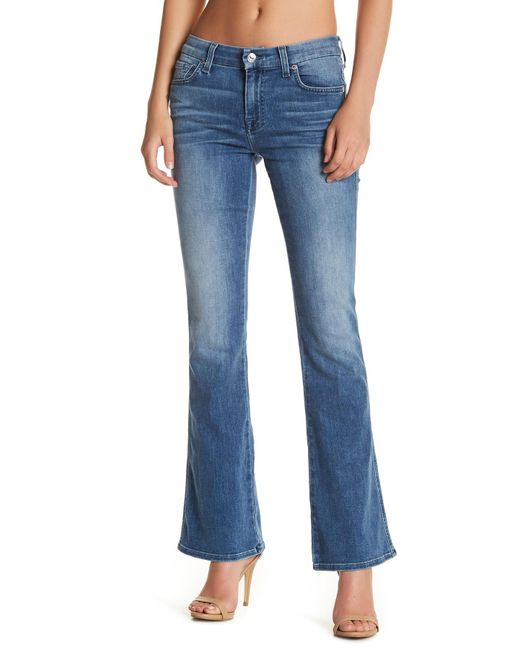 7 For All Mankind | Blue A Pocket Jean | Lyst