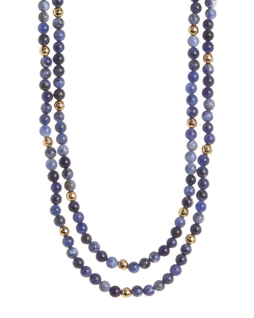 Gorjana - Metallic Dakota Wrap Necklace - Lyst