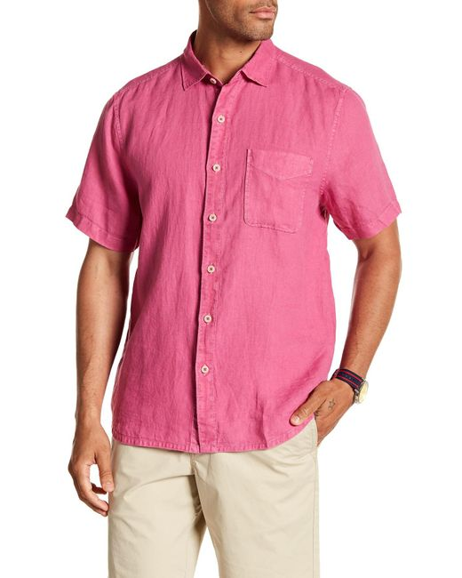 Tommy Bahama - Pink Sea Spray Breezer Shirt for Men - Lyst