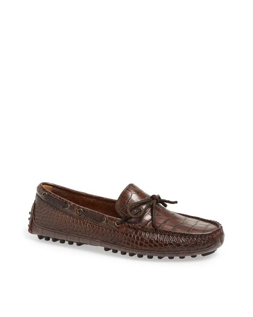 Cole Haan - Brown Grant Canoe Camp Driving Moccasin - Wide Width Available for Men - Lyst