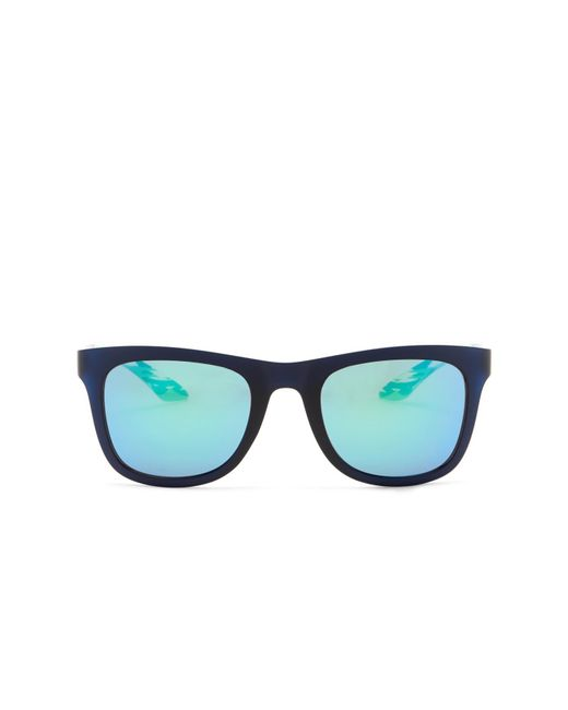 60f4c4d2b4 ... PUMA - Green 51mm Square Sunglasses for Men - Lyst ...