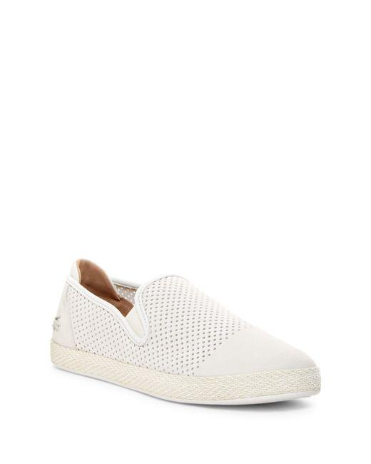 Lacoste   White Tombre 117 Slip-on Sneaker for Men   Lyst