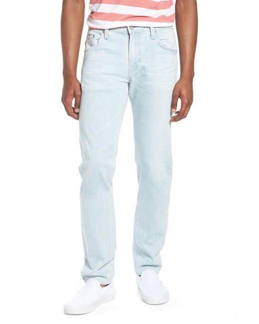 AG Jeans - Blue Dylan Skinny Fit Jeans (28 Years Salt Mist) for Men - Lyst