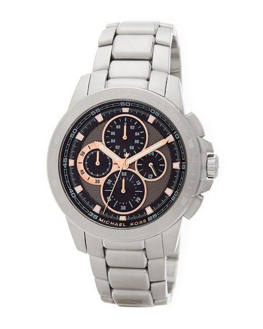 MICHAEL Michael Kors | Metallic Men's Ryker Chronograph Bracelet Watch for Men | Lyst