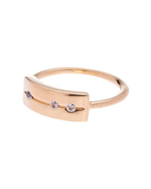 Elizabeth and James | Metallic London White Topaz Ring | Lyst