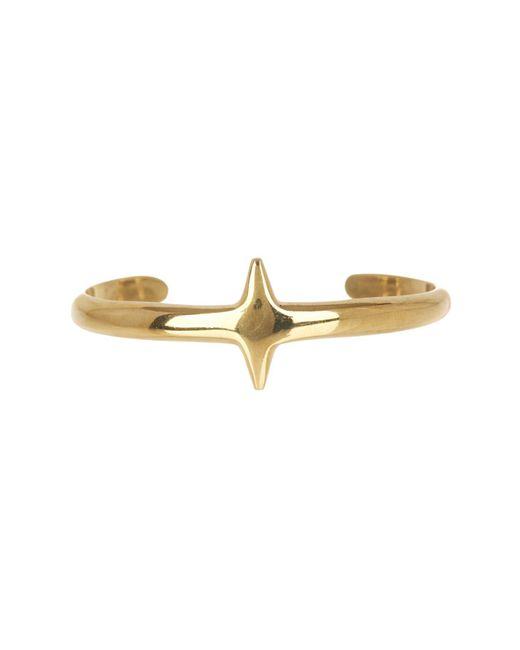 Soko - Metallic Single Bar Cuff Bracelet - Lyst