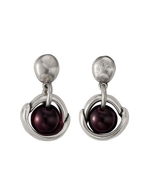Uno De 50 - Metallic The Forbidden Fruit Drop Earrings - Lyst