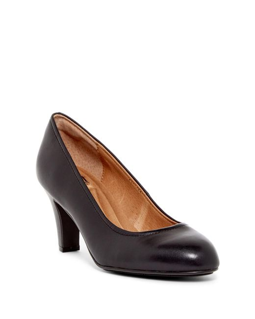 Söfft - Black Turin Leather Pump - Wide Width Available - Lyst