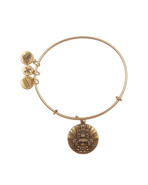 ALEX AND ANI - Metallic Hand Of Fatima Charm Expandable Bracelet - Lyst