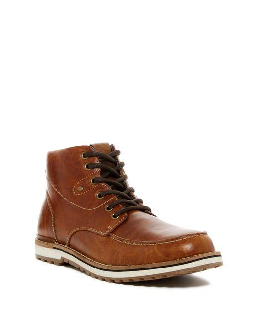 ALDO   Brown Waovia Nubuck Laceup Boots for Men   Lyst