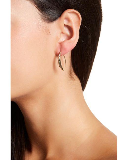 Judith Jack | Metallic Twisted Ear Threader Earrings | Lyst