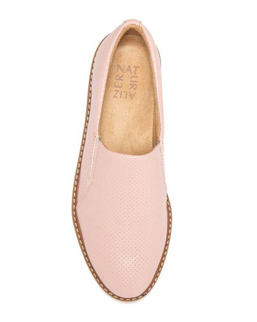 cb0fa34196f ... Naturalizer - Pink Effie 2 Platform Loafer - Wide Width Available -  Lyst ...