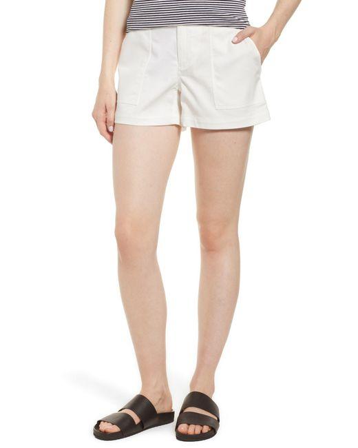 Nordstrom - White Patch Pocket Shorts - Lyst