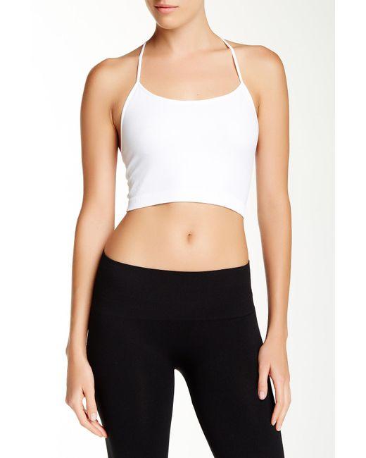 Nikibiki | White Skinny Y-strap Back Bralette | Lyst