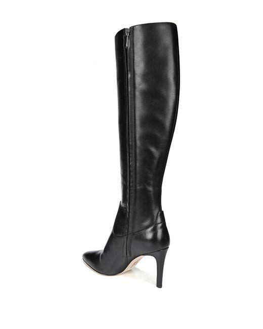 8747bc106 ... Sam Edelman - Black Olencia Leather Knee-high Boot - Lyst ...