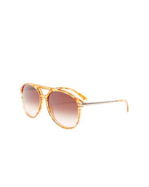 ec5df65ad28 ... Wildfox - Multicolor Women s Baroness Aviator Acetate Frame Sunglasses  ...