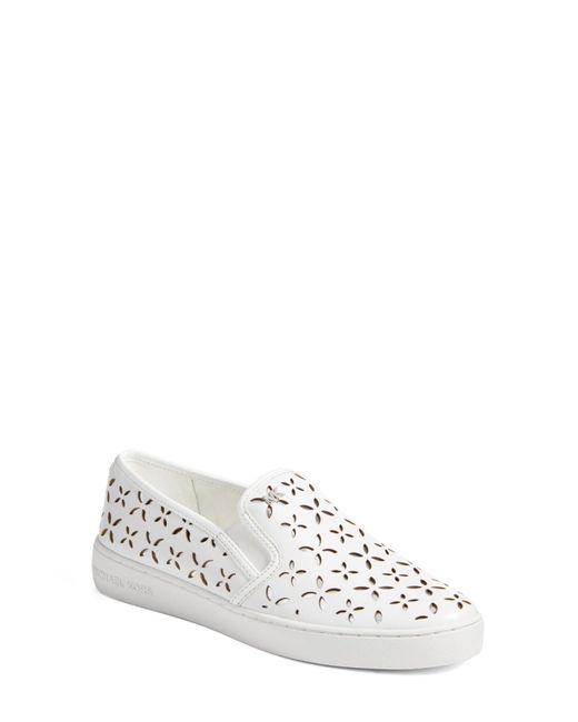 MICHAEL Michael Kors - Metallic Keaton Slip-on Sneaker (women) - Lyst