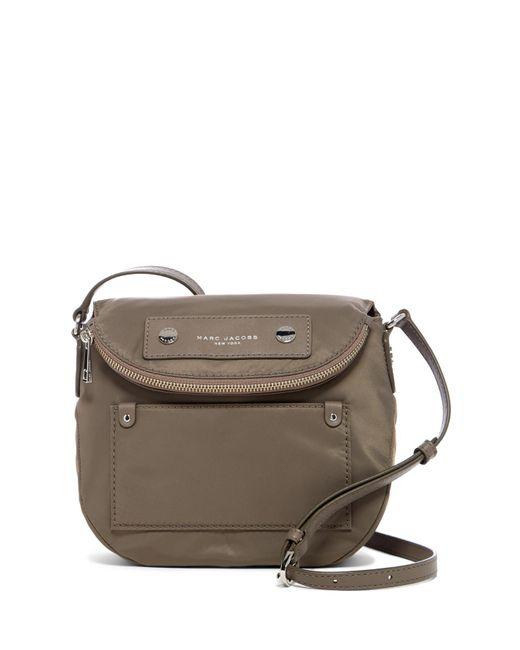 Marc Jacobs   Gray Preppy Nylon Mini Natasha Crossbody Bag   Lyst