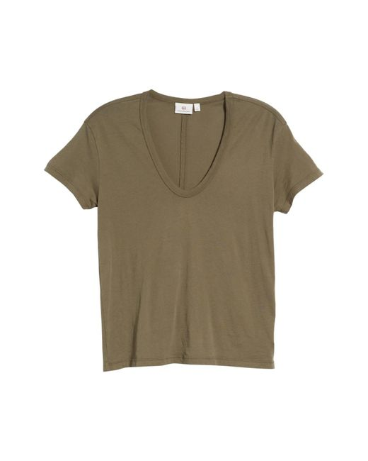 AG Jeans - Green Henson Tee - Lyst