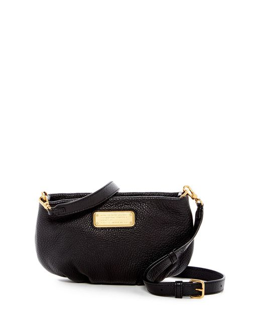 Marc By Marc Jacobs | Black Percy Leather Crossbody | Lyst