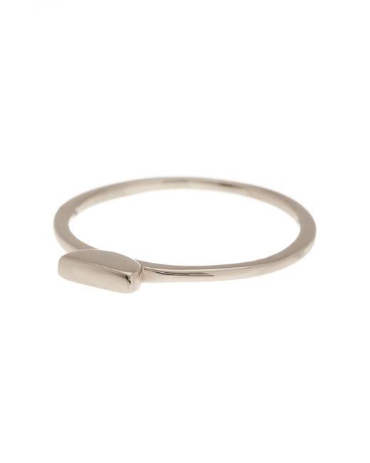 Argento Vivo | Metallic Small Bar Ring | Lyst