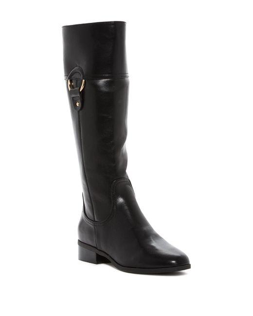 Kensie   Black Cathia Riding Boot   Lyst