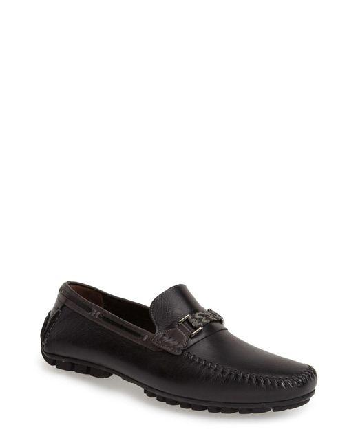 Bacco Bucci   Black Zagreb Venetian Loafer for Men   Lyst