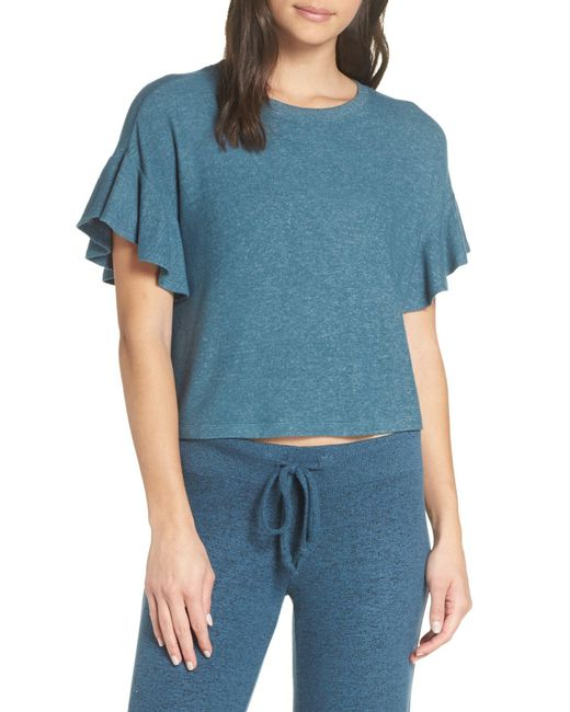 Make + Model - Blue Flirty Pajama Tee - Lyst