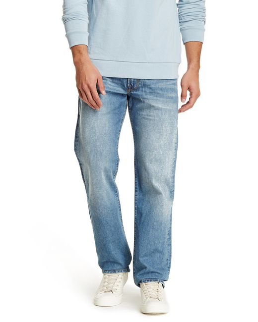 "Lucky Brand | Blue 363 Vintage Straight Leg Jean - 30-36"" Inseam for Men | Lyst"