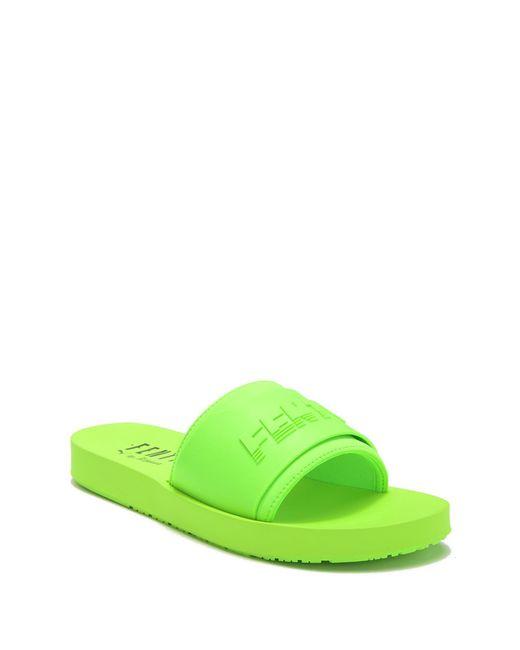 PUMA - Green Surf Slides - Lyst